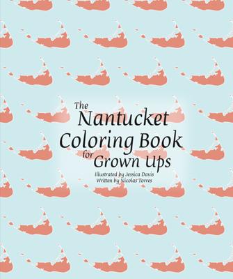 Nantucket Coloring Book For Grown Ups